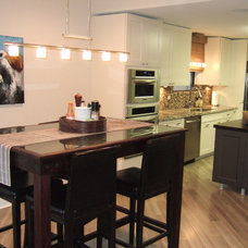 Eclectic Kitchen by Andern Design