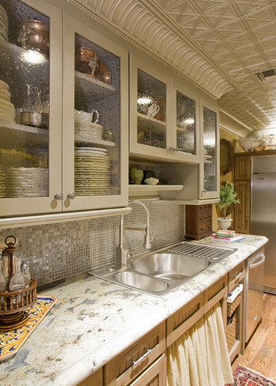 American Traditional Kitchen Eclectic Kitchen