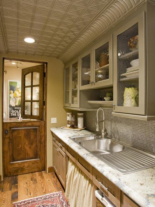 Tin Ceiling Tiles Backsplash Home Design Ideas Pictures Remodel And Decor