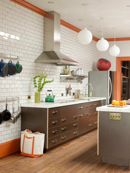 Eclectic Kitchen by Heide Hendricks