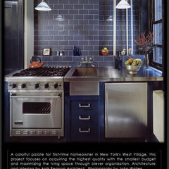 eclectic kitchen by Anik Pearson Architect, P.C.