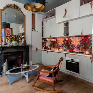 Eclectic kitchen in Crouch End
