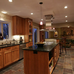 eclectic kitchen by Indicia Interior Design