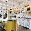 9 Yummy Yellow Kitchen Islands