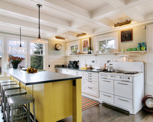 Eclectic seattle kitchen design ideas remodel pictures for Kitchen ideas eclectic