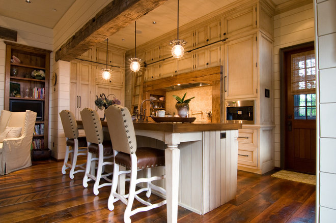 Eclectic Kitchen by Dungan Nequette Architects