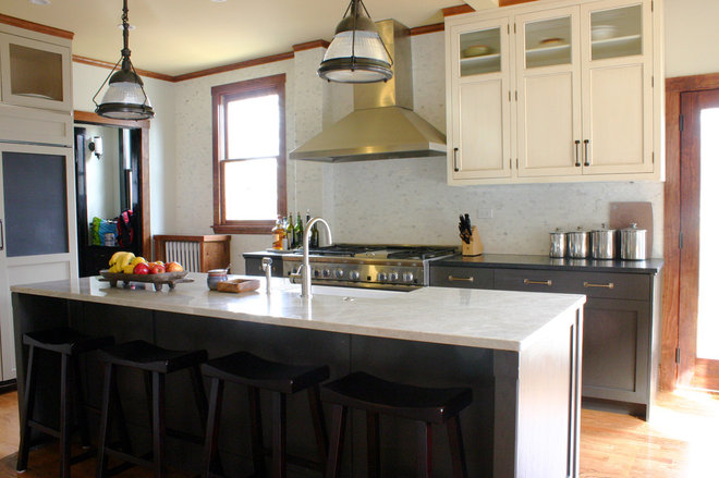 Kitchen Sink Island : Eclectic Kitchen Eclectic Kitchen