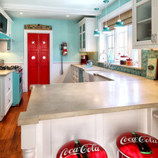 Traditional Kitchen Eclectic Kitchen