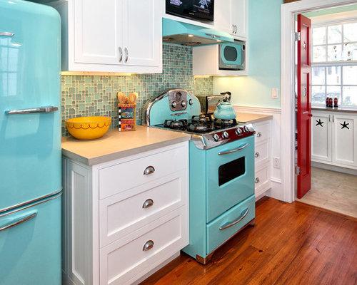 Retro Kitchen Tile Backsplash Ideas Pictures Remodel and Decor – Retro Kitchen Tile