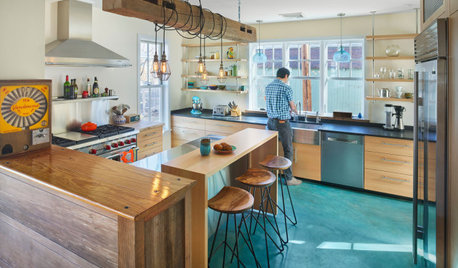 New This Week: A Pair of Colorfully Eclectic Kitchens