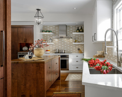 Affordable Illuminated Backsplash Home Design Ideas Renovations Photos