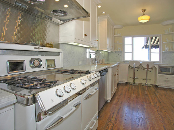 Eclectic Kitchen by Shannon Ggem ASID