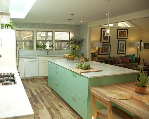 kitchen design remodel best eclectic kitchen with turquoise cabinets design ideas 1331