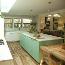 Eclectic Kitchen by SLIC Interiors