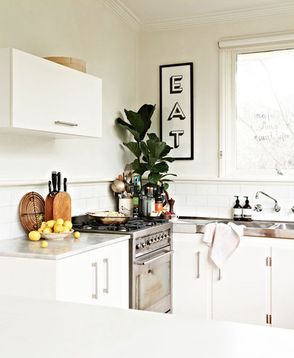 Eclectic Kitchen by Space Grace & Style