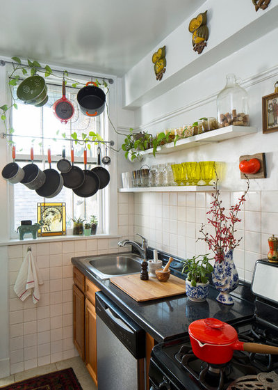 Eclectic Kitchen by Studio Sven
