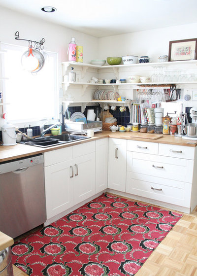 Eclectic Kitchen by Tamar Schechner/Nest Pretty Things Inc