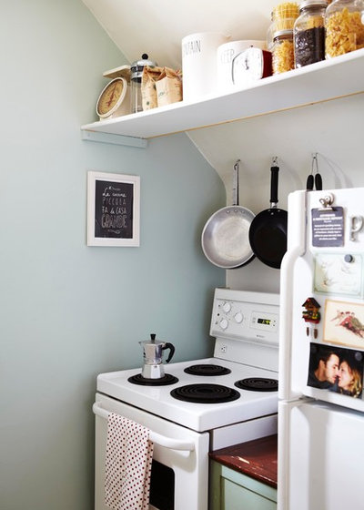 Eclectic Kitchen by Valerie Wilcox: Photographer