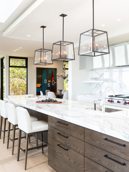 Top cucina in marmo di carrara - Foto e idee | Houzz