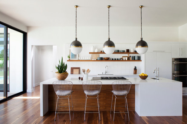 Midcentury Kitchen by Brittany Stiles Design
