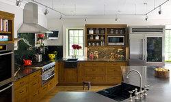 Eclectic Modern Tudor Kitchen