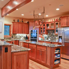 Traditional Kitchen by Crane Homes & Renovations