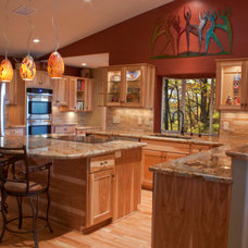 Traditional Kitchen by Tile & Stone Design Center