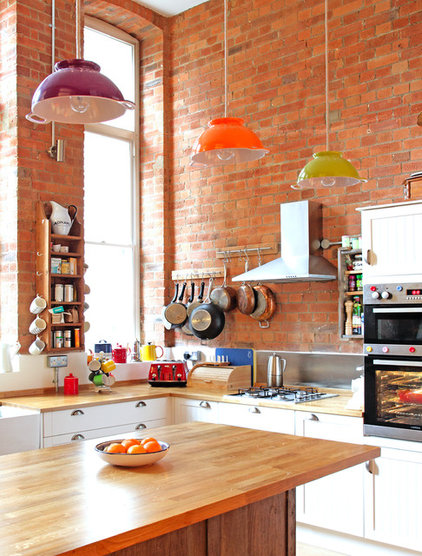 Eclectic Kitchen by Avocado Sweets Interior Design Studio
