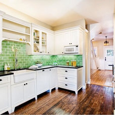 Traditional Kitchen by Eco+Historical, Inc.