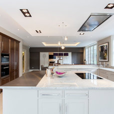 Transitional Kitchen by Chris Snook
