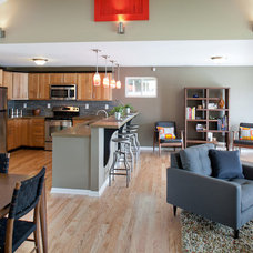 Transitional Kitchen by Nest Designs LLC