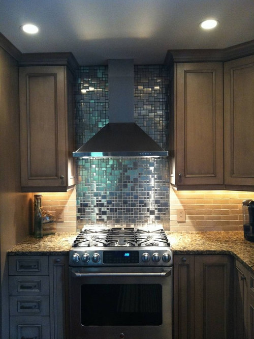 Eden mosaic tile installations for Dimensional tile backsplash