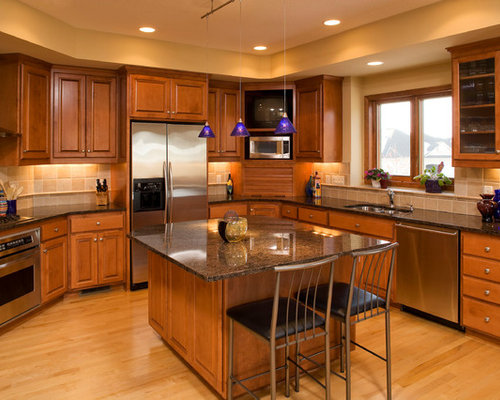 Corner Kitchen Cabinet Ideas, Pictures, Remodel and Decor