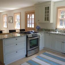 Traditional Kitchen by Jennifer Dussault at Carole Kitchen & Bath