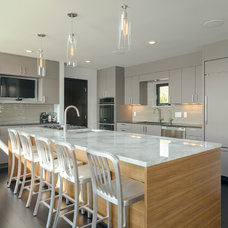 Contemporary Kitchen by Rosenow   Peterson Design