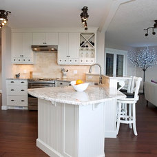 Transitional Kitchen by Alair Homes