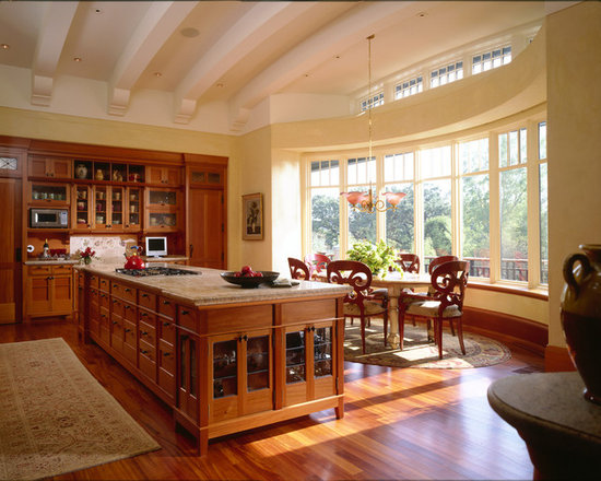 kitchens with cherry wood cabinets | houzz