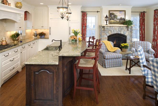 Rustic Kitchen by John Kraemer & Sons