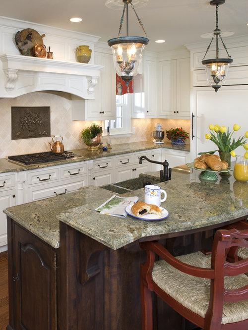 Kitchen Ideas White Cabinets Seafoam Green