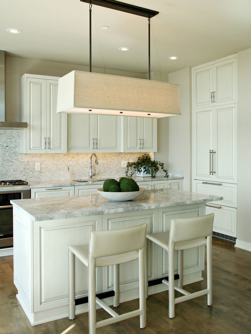 Inspiration For A Contemporary Kitchen Remodel In Minneapolis With Paneled  Appliances