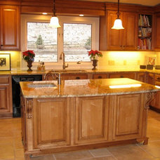 Traditional Kitchen by Satoree Design