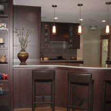 Modern Kitchen by The Woodshop of Avon