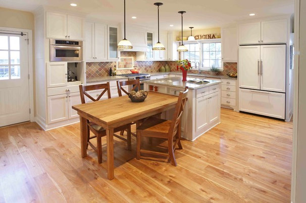 Traditional Kitchen by Kuhl Design Build LLC