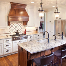 Traditional Kitchen by LandMark Photography