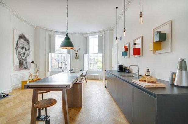 エクレクティック キッチン by Cameron Interiors Edinburgh & Glasgow