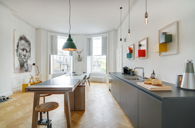 Eclectic Kitchen by Cameron Interiors Edinburgh & Glasgow