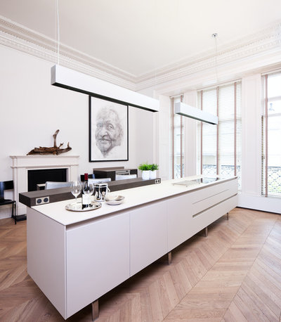 Contemporary Kitchen by Cameron Interiors Edinburgh & Glasgow