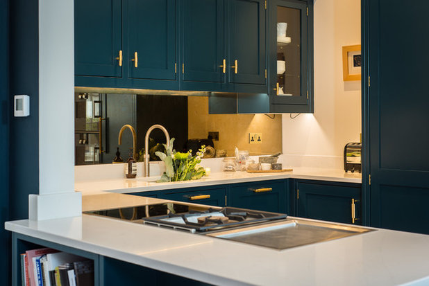 Transitional Kitchen by Lally Walford Interiors