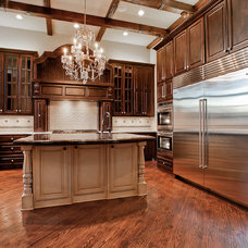 Traditional Kitchen by Calais Custom Homes