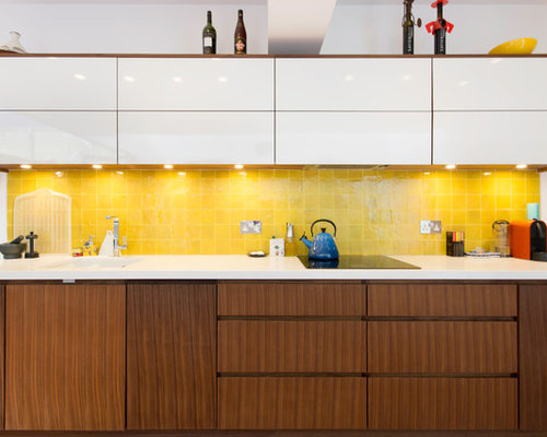 yellow splashback home design ideas pictures remodel and decor